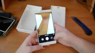 Смартпэд XIAOMI Mi MAX (Распаковка и внешнее сравнение с Xperia Z Ultra)