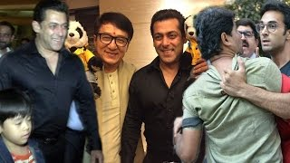 (VIDEO) Salman Khan MEETS Jackie Chan In Mumbai, Pulkit Samrat's FIGHT With REPORTER