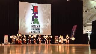 Mistrzostwa Europy Cheerleaders - Manchester 2014 - HAPPY LADIES Poland - CHEER DANCE MASTER