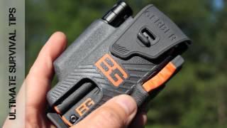 NEW - Gerber Bear Grylls Survival Tool Pack Review - Best Multi-Tool Flashlight & Fire Starter Kit?