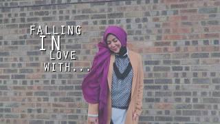 FALLING IN LOVE WITH YOU | SHILA AMZAH |  LYRICS VIDEO