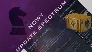 Nowy Update CS GO - Spectrum - Informacje