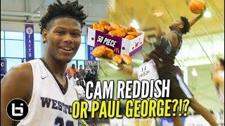 If Paul George Was In HS!! DUKE Bound Cam Reddish 50+ Piece McBucket!! FREE BUCKETS For EVERYONE!!