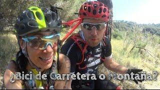 Bici de Carretera VS Bici Montaña