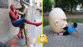 صور مع تماثيل ابداعية بشكل لا يصدق تحتاج لرؤيتها, لن يتقبلها عقلك!!