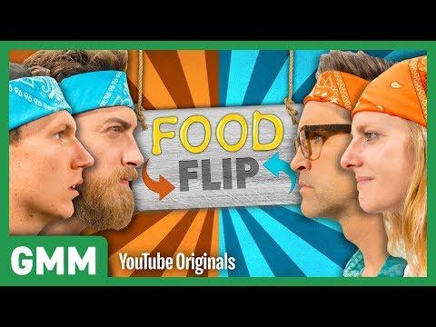 Fried Chicken Cupcake vs. Cupcake Fried Chicken FOOD FLIP