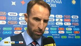Gareth southgate post match interview.