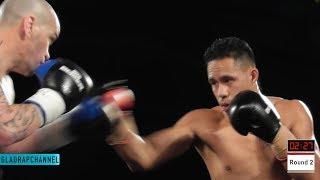 8th Pro Fight - Reubin Webster vs Daniel Maxwell @ The Big Bash 8 - Auckland