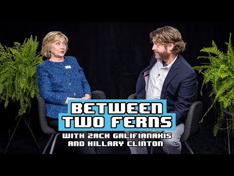 Between Two Ferns With Zach Galifianakis Hillary Clinton