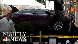Times Square Crash: Surveillance Video Shows Horrific Scene | NBC Nightly News