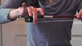 Online Cello Lessons - 3 - How to Hold the Bow