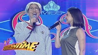 It's Showtime Miss Q and A: Anne asks Vice Ganda an intriguing question