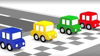 Lehrreicher Zeichentrickfilm Die 4 Kleinen Autos Wer Ist Am
