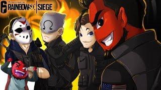 Rainbow Six: Siege | THE COMEBACK SQUAD! (w/ H2O Delirious, Bryce, & Ohmwrecker)