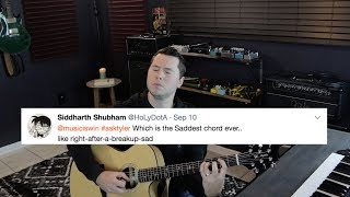 The Saddest Chord on Guitar? I'm Coming to Europe? (Q&A #9)