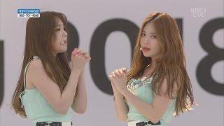 【HD繁體中字】 150516  Girls Day  - Something @ KBS Pyeongchang Winter Olympics Games G