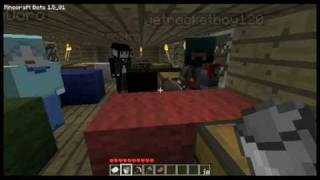 Minecraft SMP: Airship Madness Part #12: The Pocket-Nether