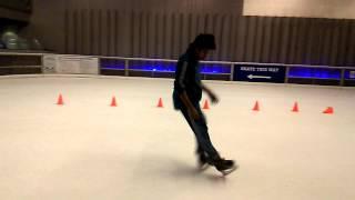 Hip hop freestyle iceskatin ashish  IGT