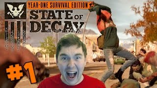 State of Decay: Year One Survival Edition - Part 1: ZOMBIE APOCALYPSE! (PC 1080p)