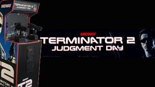 Terminator 2: Judgment Day Arcade (1991) Playthrough!