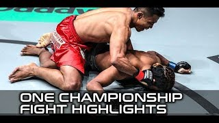 ONE Global Superheroes: Face-Plant KO Tops Fight Highlights