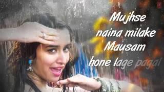Cham Cham LYRICAL Video   BAAGHI   Tiger Shroff, Shraddha Kapoor   Meet Bros, Monali Thakur 640x360