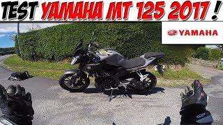 #Moto Vlog 139 : TEST YAMAHA MT 125 2017 / PETIT ROADSTER PARFAIT? 😍