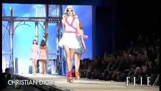 Christian Dior. Paris Fashion Week primavera verano 2011