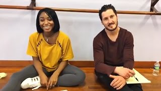 NORMANI & VAL | Facebook Live [Dancing with the Stars] - May 20, 2017