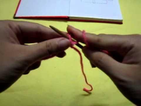 Cách đan mũ cho nữ hoa văn hoa tuyết phần 1