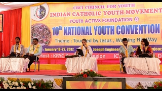 ICYM & ME  Panel discussion at National Youth Convention 2017