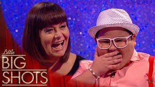 YouTube sensation Balang has Dawn in a fit of giggles | Little Big Shots