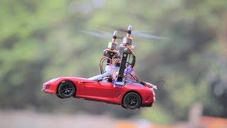 How To Make a drone - quadcopter helicopter