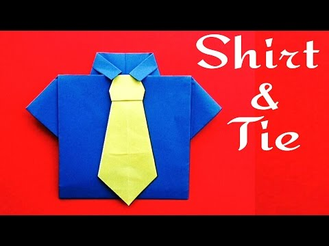 Xxx Mp4 Shirt And Neck Tie 👔 No Glue Required For Father S Day DIY Origami Tutorial By Paper Folds 3gp Sex