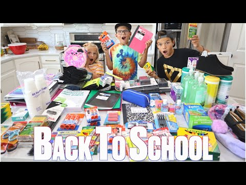 BACK TO SCHOOL SHOPPING HAUL CRAZY BACK TO SCHOOL SUPPLY LISTS BUYING SCHOOL SUPPLIES