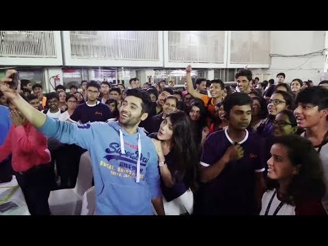 Xxx Mp4 Utkarsh Sharma And Ishitha Chauhan At Umang College Festival For GENIUS Movie Promotion 3gp Sex