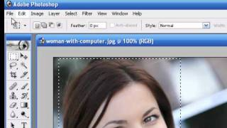 How to edit photo with Photoshop 7