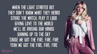 Ellie Goulding - Burn (Lyrics)