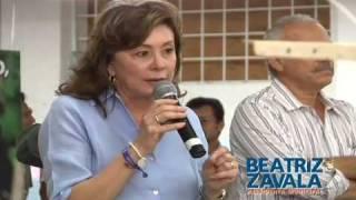 Beatriz Zavala visita la ermpresa RAMS Cottons