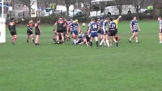 Keele University Rugby  V Liverpool Away 24-21 (First half- part only) 9/12/15