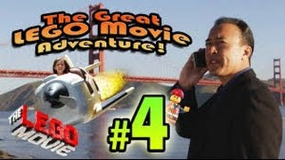 The GREAT LEGO MOVIE ADVENTURE! Episode 4 - SAN FRANCISCO