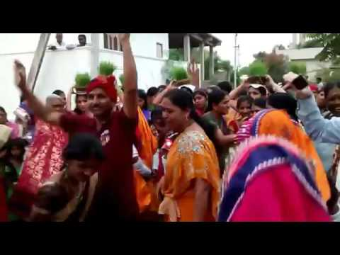 Banjara's (Lambadi's) Holy Teej Festival Celebration at Bheemaram Hanamkonda. | GloryBanjara.com