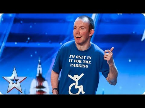 Xxx Mp4 Lost Voice Guy Has The Audience ROARING With Unique Comedy Routine Auditions BGT 2018 3gp Sex