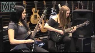 Elizabeth Schall & Stephanie Pickard @ Namm 2011