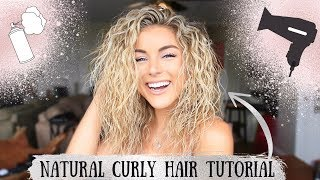 My Natural Curly Hair Tutorial | How to with Angelique Cooper