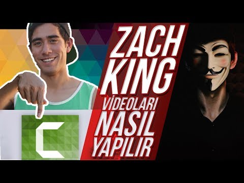 ZACH KING VİDEOLARI NASIL YAPILIR ? -Camtasia Studio 8
