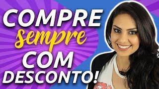 Meus 5 SEGREDOS para COMPRAR com DESCONTO SEMPRE! - IQ360 e Júlia Mendonça
