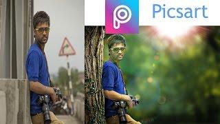 PicsArt Tutorial | Photo Manipulation | Change Background & Blending TJ