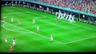 Best goal in fifa Juan mata Manchester United