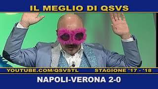 QSVS - I GOL DI NAPOLI - VERONA 2-0  - TELELOMBARDIA / TOP CALCIO 24
